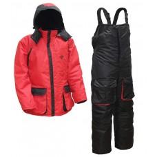 Зимний костюм Элементаль К-472 СENTAUR -40°C мембрана цвет красный/черный
