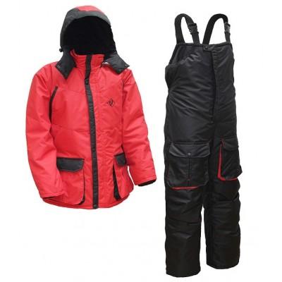 Зимний костюм Элементаль К-472 СENTAUR -40°C мембрана цвет красный/черный, фото
