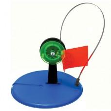 Жерлица (ставка) с прямой стойкой и катушкой со стопором