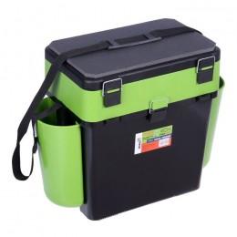 Ящик FishBox HELIOS 19 литров ТОНАР зелёный