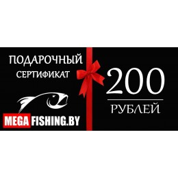 Подарочный сертификат на сумму 200 руб.