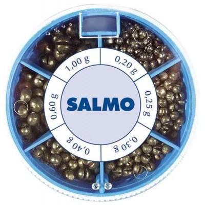 Набор грузов Salmo Дробинка стандарт PL 6 секций 70 гр 1007-ST70
