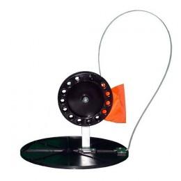 Жерлица на диске 210мм с большой катушкой