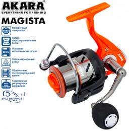 Катушка безынерционная Akara Magista AFM 2000 3+1bb