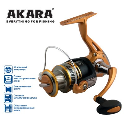 Катушка безынерционная Akara Demetra FD2000A 5+1bb, фото