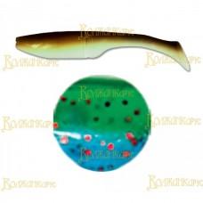 Силиконовая приманка VOLZHANKA BIG ROACH 150 мм цвет 2002 (уп. 3 шт)