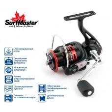 Катушка безынерционная Surf Master Black Bass FB1500A 5+1bb
