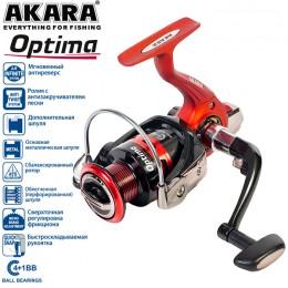 Катушка безынерционная Akara Optima 1000 4+1bb