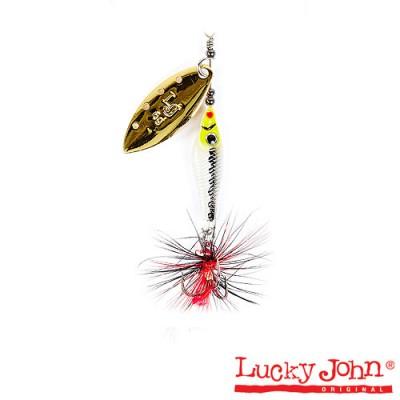 Блесна LUCKY JOHN TRIAN BLADE LONG #2 цвет 004, фото