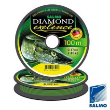 Леска SALMO DIAMOND EXELENCE 017 мм 100 м
