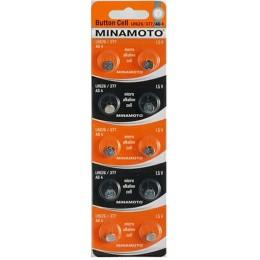 Батарейка Minamoto LR626/377/AG4 10ВР (1шт)