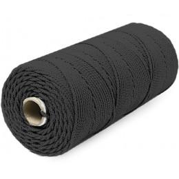Шнур плетеный Универсал на бобине 3 мм 75 м черный