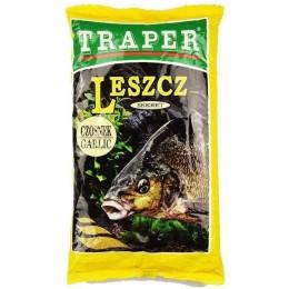Прикормка TRAPER SEKRET 1кг Leszcz czosnek (чеснок)
