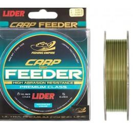 Леска Fishing Empire Lider CARP Plus Feeder Camou 300м 0,25мм