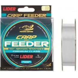 Леска Fishing Empire Lider CARP Plus Feeder Clear 300м 0,22мм