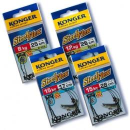 Поводки Konger 1*7 Steelflex 5кг/22см (2 шт)