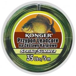 Ледкор Konger Spring/Summer для карпа 25lbs/5м
