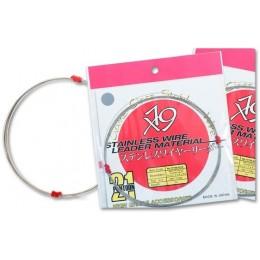 Поводочный материал Pontoon 21 Stainless Wire 1*19 серый без покрытия 5м 4.5 кг