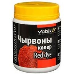 Добавка в прикормку Vabik Colormaster Красный 100г