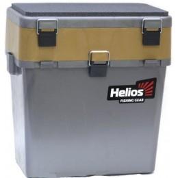 Ящик зимний Helios 19л серый/золото (HS-IB-19-GGo)