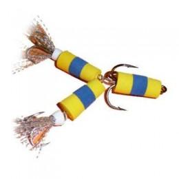 Приманка джиговая (мандула) XXL FISH ФЛАЖОК МОДЕЛЬ № 152 цвет ЖСЖ