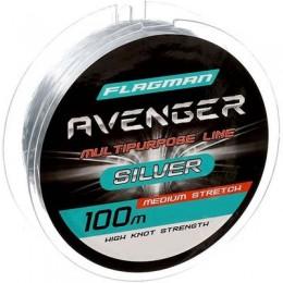 Леска Flagman Avenger Silver 100м 0,20 мм