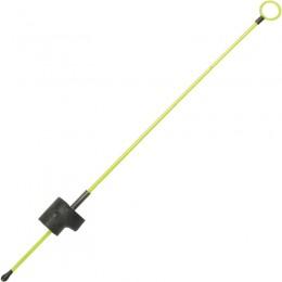 Кивок-сторожок Три Кита М-3Ф желтый (унив.часовая пружина полимер.покр.)140мм (0.8-3.0г)