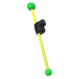 Кивок-сторожок Три Кита В-2Ф витой полимер желтый 85мм 3-4гр