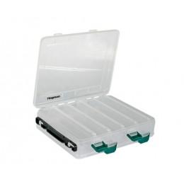 Коробка Flagman пластиковая двусторонняя 27.5х15х5 см / WH1326