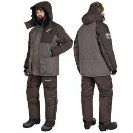 Зимний костюм для рыбалки Alaskan Russian Mission FS хаки/коричневый