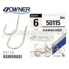 Крючок одинарный OWNER 50115 KAWAHAGI № 08