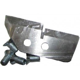 Ножи для ледобура NERO 130М мм ступеньчатые 1004-130М (150 лунка)