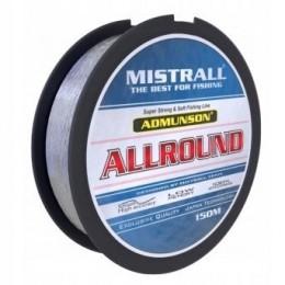 Леска Mistrall ADMUNSON ALLROUND 150м 0.18мм 0.18кг