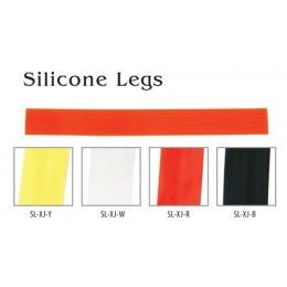 Материал для вязки мушек Akara Silicone Legs 15 см XJ-black