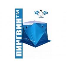 Палатка зимняя КУБ ПИНГВИН ПРИЗМА ПРЕМИУМ STRONG (2-х слойная)