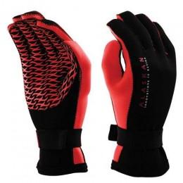 Перчатки неопреновые Alaskan черно-красные