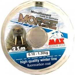 Леска зимняя MAX MORSE 0.14 мм 25 м
