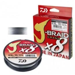 Плетенка DAIWA J-Braid Grand X8 150м 0.20мм 16.0кг цвет GRAY-LIGHT
