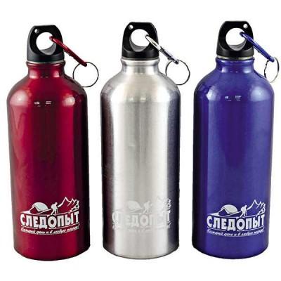 Бутылка питьевая Следопыт с карабином, 400 мл PF-BD-A400
