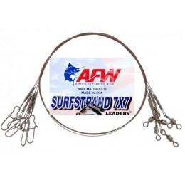 Поводок рыболовный AFW 7х7 12кг 20 см