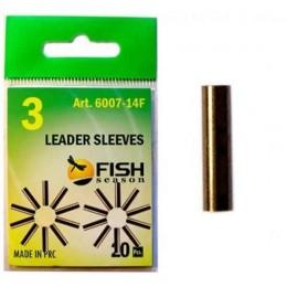 Трубка обжимная Fish Season 1.2 мм №2 (20 шт) 6007-12F