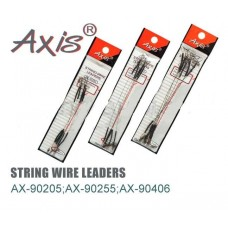 Поводок струна AXIS диаметр 0.4 мм 12.5 см 5 шт AX-90406-12.5