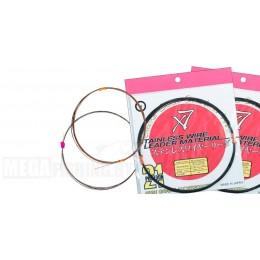 Поводочный материал 1*7 13.3 кг PONTOON 21 цвет КОРИЧНЕВЫЙ покрытие НЕЙЛОН PA-77707-4107