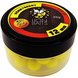 Бойл Lion Baits 12 мм HoneyBerry - 25 г POP-UP плавающие