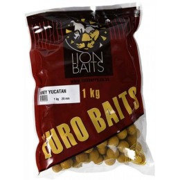 Бойл Lion Baits 20 мм Honey Yucatan - 1 кг EURO BAITS тонущие
