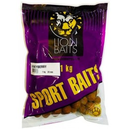 Бойл Lion Baits 20 мм HONEYBERRY - 1 кг SPORT BAITS тонущие