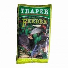 Прикормка TRAPER ПОПУЛЯРНАЯ 1 кг FEEDER (ФИДЕР)
