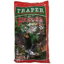 Прикормка TRAPER SEKRET 1 кг FEEDER CZERWONY (ФИДЕР КРАСНАЯ)