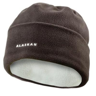 Шапка Alaskan флисовая BlackSalmon коричневая (AWCBSK), фото