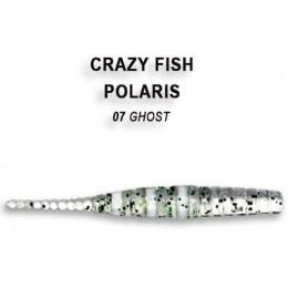 """Силиконовая приманка Crazy Fish Polaris 1.8"""" цвет 7 (8 шт) жареная рыба"""